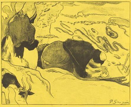 Paul Gauguin, 'The Washerwomen (Les laveuses)', 1889
