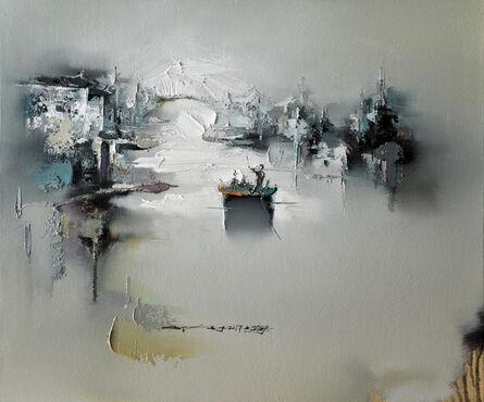 Gao Xiao Yun 高小云, 'Shutai Songying I 书台松影之一', 2017
