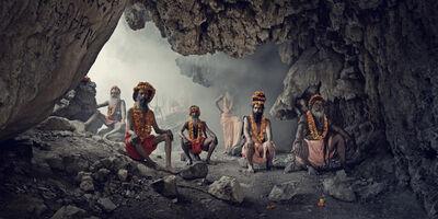 Jimmy Nelson, 'XXIV 1   Cave, Sadhus,  Haridwar, India, 2016  ', 2016