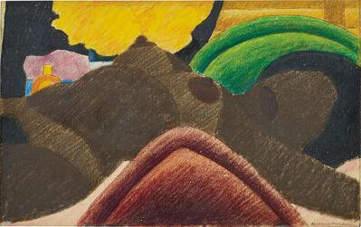"""Tom Wesselmann, 'Sketch from """"Big Brown Nude""""', 1975"""
