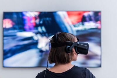 Alfredo Salazar-Caro, 'Digital Museum of Digital Art, exhibition Morphé Presence'