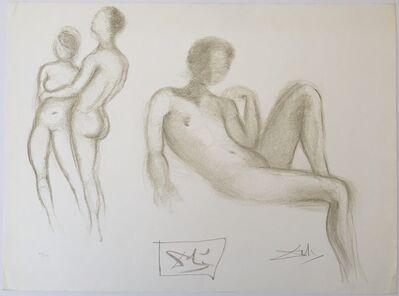 Salvador Dalí, 'Couples nus (Nude couple)', 1970