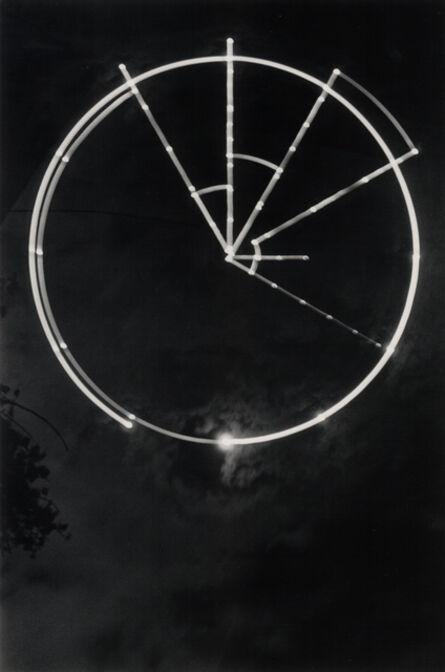Kikuji Kawada, 'Artificial Moon Trail, Tokyo', 1969