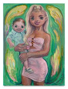 Delia Brown, 'Blonde Mom', ca. 2020