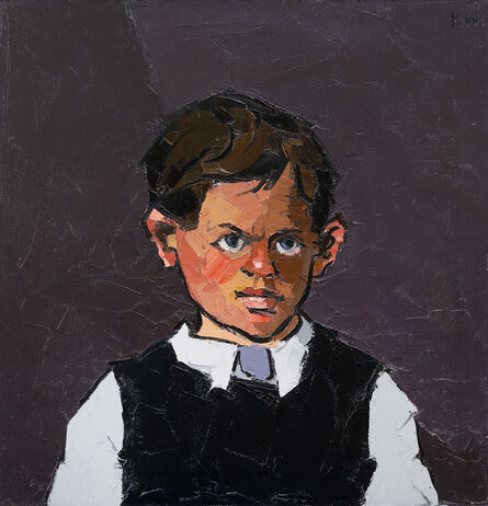 Kyffin Williams, 'Portrait of a boy', ca. 1960