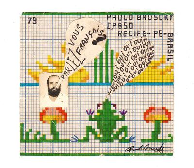 Paulo Bruscky, 'Parlez-vous français?', 1979