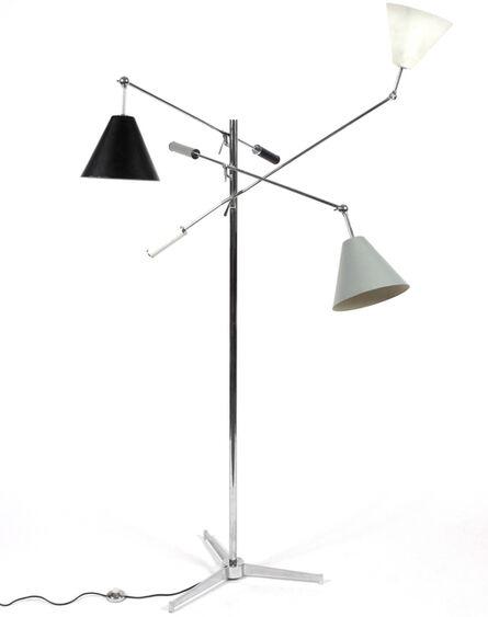 Arredoluce, 'Three Arm Floor Lamp', 1952