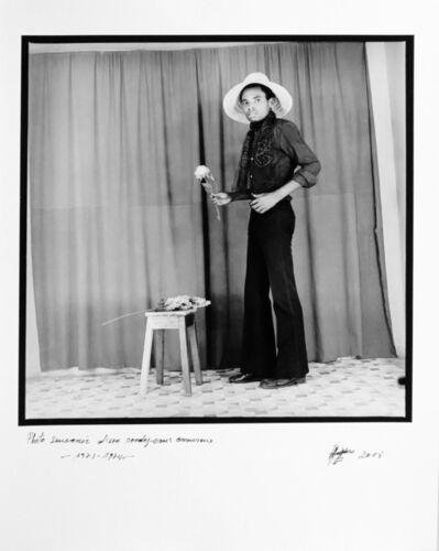 Ambroise Ngaimoko, 'Photo souvenir d'un rendez-vous amoureux', 1973 -1974