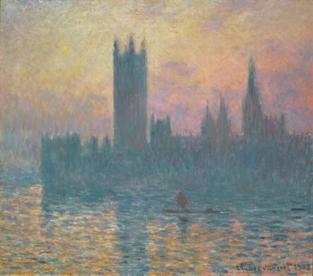 Claude Monet, 'The Houses of Parliament, Sunset', 1903