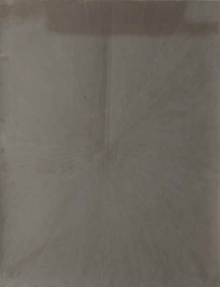 Mark Grotjahn, 'Untitled (Solid French Grey Butterfly 70% 672)', 2007