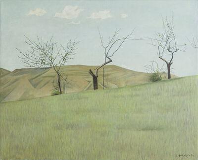 """Hagop Hagopian, 'Three Trees, """"Morning""""', 1999"""