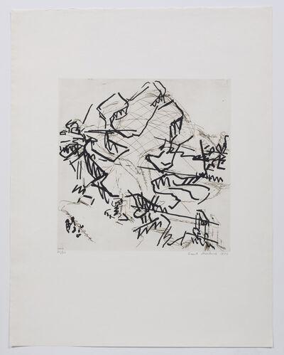 Frank Auerbach, 'Tree at Tretire II', 1975