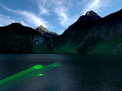 Mario Airò, 'En Plein Air – Wandering the Alps with Laser and Camera', 2011-2012