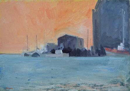 Paul Resika, 'The Old Pier', 1985-1987