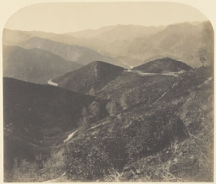 Carleton E. Watkins, 'View from Mt. Josephine, looking North / View North', 1860