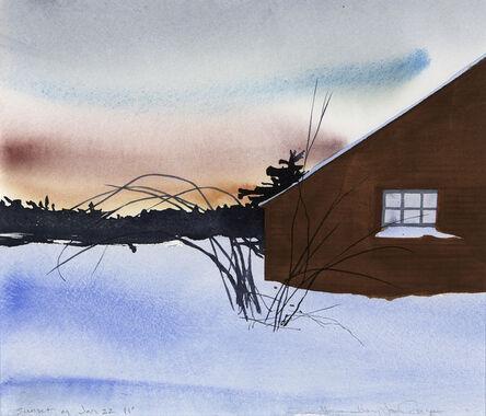Susan Headley Van Campen, 'Sunset on January 22'
