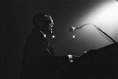 Hervé GLOAGUEN, 'Ray Charles, Paris, 1961', 1961