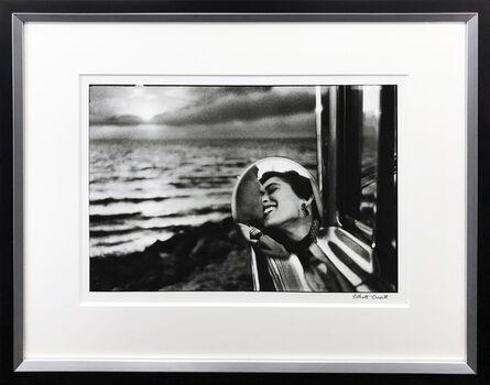 Elliott Erwitt, 'CALIFORNIA KISS, SAN MONICA, 1955', ca. 1955