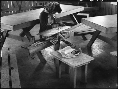 Dorothea Lange, 'Painting, San Bruno', 1942