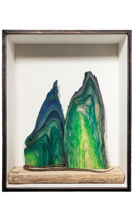 Wu Jian'an 邬建安, 'Steading the Mountain No.3 - The Struck the Snake', 2014
