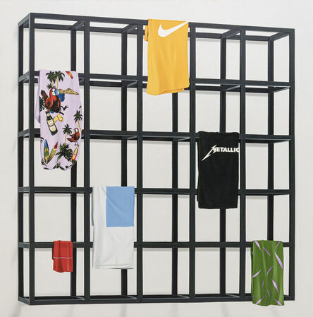 Marco Mojica, 'Sol Lewitt, Cubic Modular Black Structure', 2019