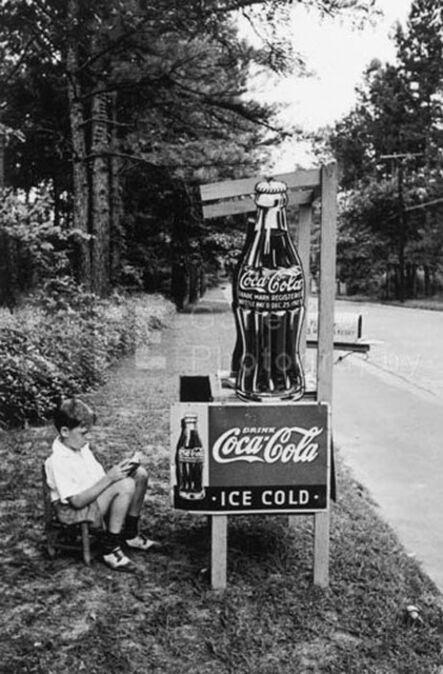 Alfred Eisenstaedt, 'Little Boy Selling Coca-Cola at Roadside, Atlanta, GA', 1936