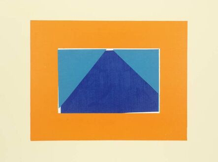 Howard Hodgkin, 'Indian View C', 1971