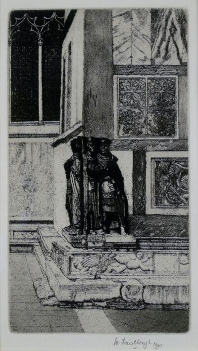 Wilfred Fairclough, 'Four Kings of San Marco, Venice', 1990