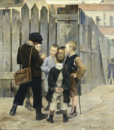 Marie Bashkirtseff, 'The Meeting', 1884