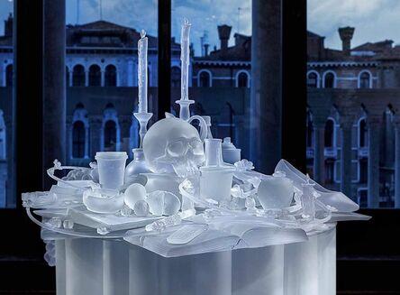 Hans Op de Beeck, 'The Frozen Vanitas', 2015