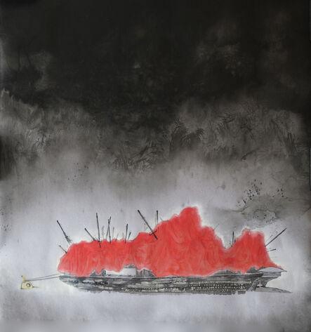 Zhenhua He, 'River Crossing Plan 2015 No. 21', 2015