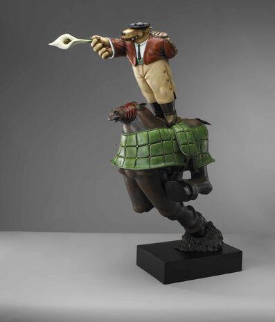 Markus Pierson, 'The Picador - Homage to Botero', 2004