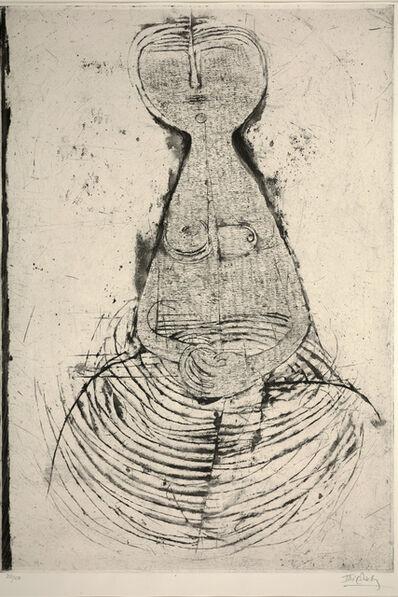 Johnny Friedlaender, 'Sesated Woman (Femme Assise)', 1956