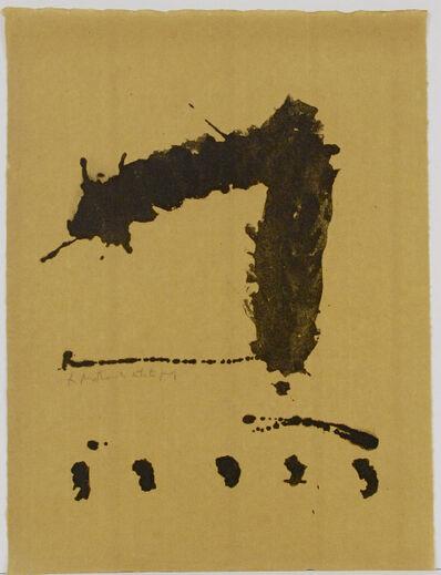 Robert Motherwell, 1967