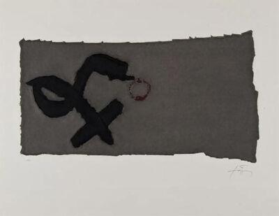 Antoni Tàpies, 'Creu Deformada 1', 1979