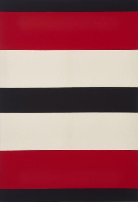Regina Aprijaskis, 'Negro, rojo y blanco', 1996