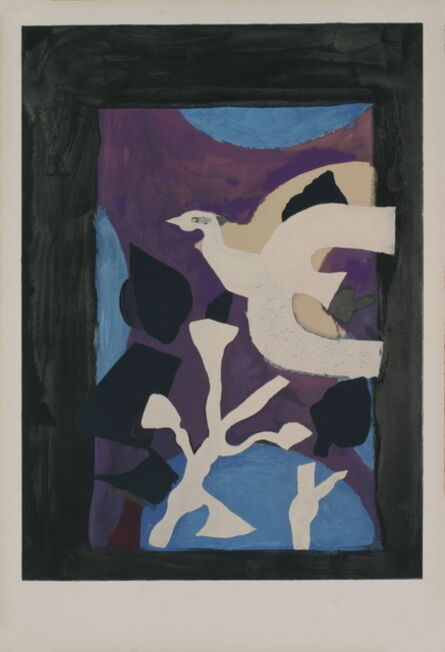 Georges Braque, 'Oiseau et Lotus', 1963