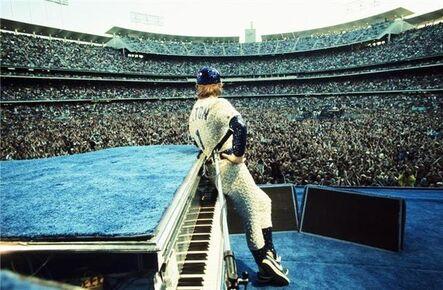 Terry O'Neill, 'Terry O'Neill – Elton John, Dodgers Stadium, Los Angeles ', 1975