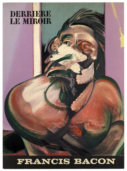 Francis Bacon, 'Francis Bacon Derrière le Miroir (cover lithograph)', 1966