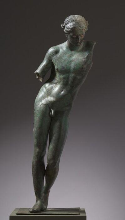 Praxiteles, 'Apollo the Python-Slayer', c. 350 BC