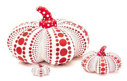 Yayoi Kusama, 'Soft Pumpkins, Red and White'