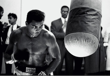 Thomas Hoepker, 'Muhammad Ali training prior a fight', 1966