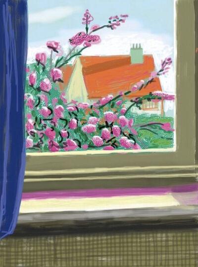 David Hockney, 'My Window, Art Edition (No. 751–1000), iPad Drawing, 'No. 778', 17th April 2011', 2019