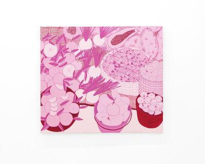 "Liz Hernandez, '""Bajo la luz rosa del Tianguis 3"" (Under the market's pink light 3)', 2018"