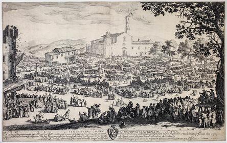 Jacques Callot, 'La Foire de l'Impruneta, 2nd plate', 1622
