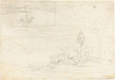 Carl Rottmann, 'Views of Monte Pellegrino', 1827