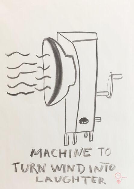 Paulo Nazareth, 'MACHINE TO TURN WIND INTO LAUGHTER', 2019
