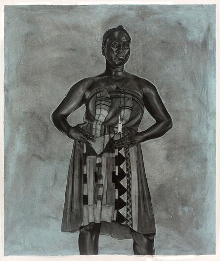 Robert Pruitt, 'Blue Black Afro Majestic', 2012