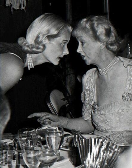 Slim Aarons, 'CZ Guest with Consuelo Vanderbilt, Palm Beach, Florida', 1955