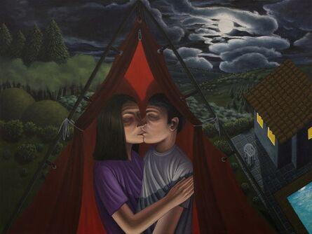 Esteban Ocampo Giraldo, 'Mi Primer Beso.  Villa Beatriz', 2017
